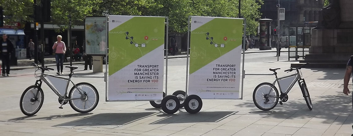 eco friendly ad bikes