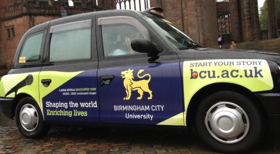 Taxi Advertising Coventry