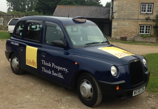 Taxi Advertising in Oxford