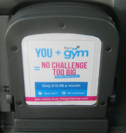 The Gym Group Tip Seat