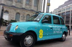 Wolverhampton Taxi Advertising